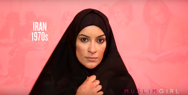 """Still from """"100 Years of Hijab"""""""