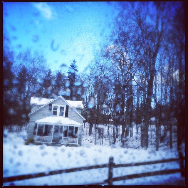 Snow in Canaan, NY. Photo by @taratwphoto Tara Todras-Whitehill #latergram #instagood #snow #weather